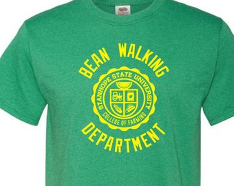 Bean Walking Department T-Shirt - College of Farming