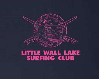 Little Wall Lake Surfing Club Sweatshirt Beach Blanket