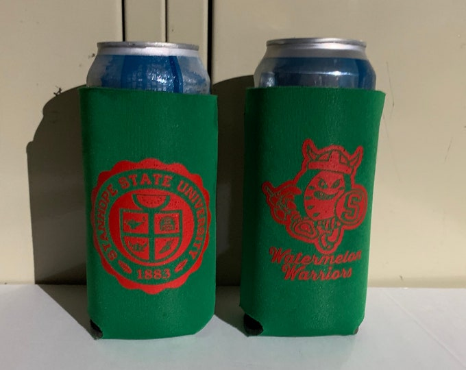 Featured listing image: The Graduate - 16 oz Tall Boy Can Cooler