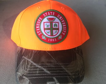 Blaze Orange Hunting Hat