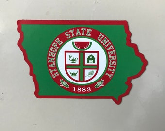 State or Stanhope Fridge Magnet