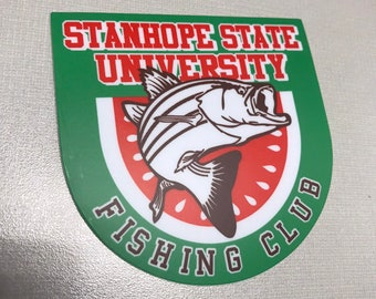 SSU Fishing Club Decal