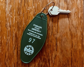 Retro Key Tag - Athletic Department Issued
