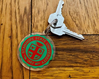 Stanhope State School Seal Key Ring