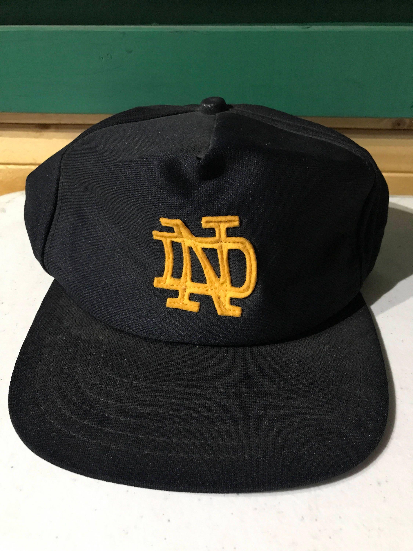 198733b1f54dd real vintage notre dame hat ab3b8 01c4d