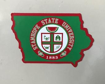 Stanhope State Fridge Magnet