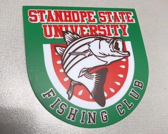 SSU Fishing Club Decal