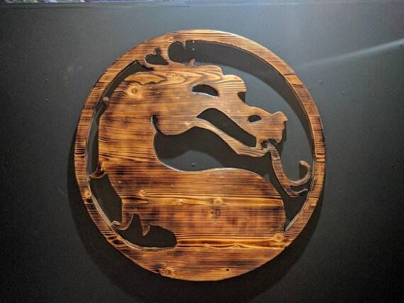 Mortal Kombat Logo Etsy