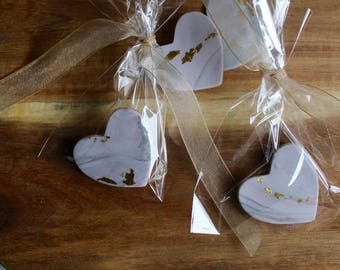 Edible wedding favor etsy x60 edible wedding favours shortbread biscuits party favours marble minimal gold leaf junglespirit Image collections