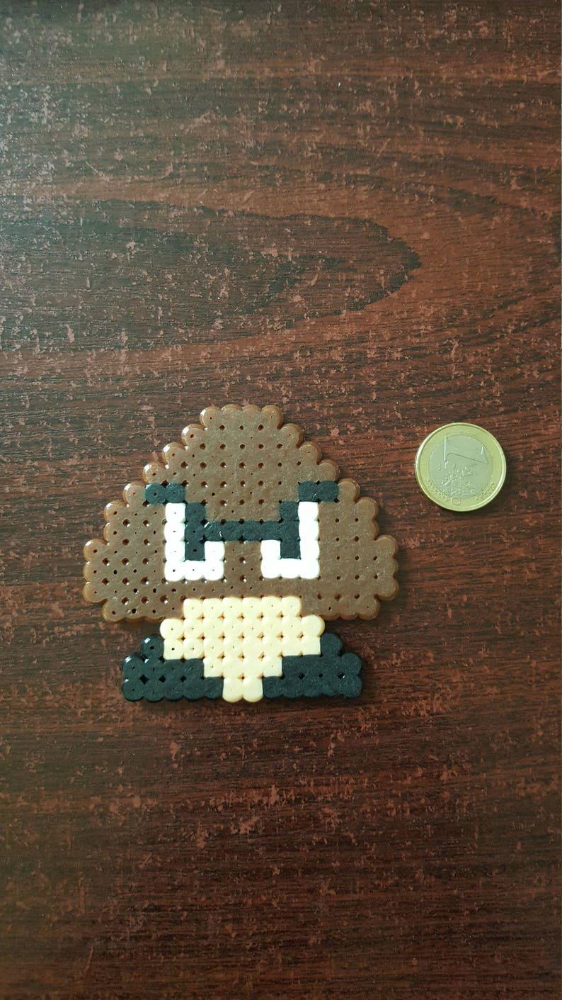Bros Super Pixel Mario Art Goomba Bead HIWYDE29