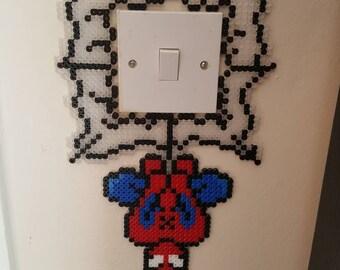 Spiderman Light Switch Hanger Beads