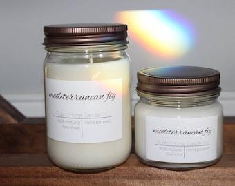 Mediterranean Fig Soy Candle // Soy Wax melt