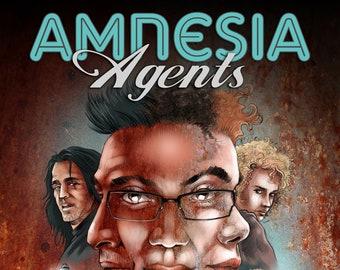 Amnesia Agents - the graphic novel PRE ORDER