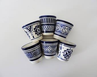 Fez Blue ceramic mug
