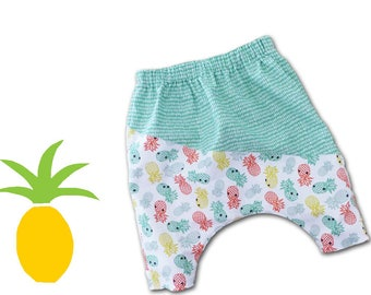Baby girl or boy clothing / African clothing / harem pants for baby / birthday gift / 3 months