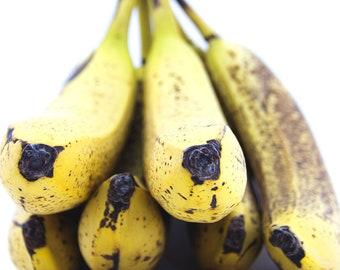 Ripe Bananas 1 - Still Life Canvas Photography Print