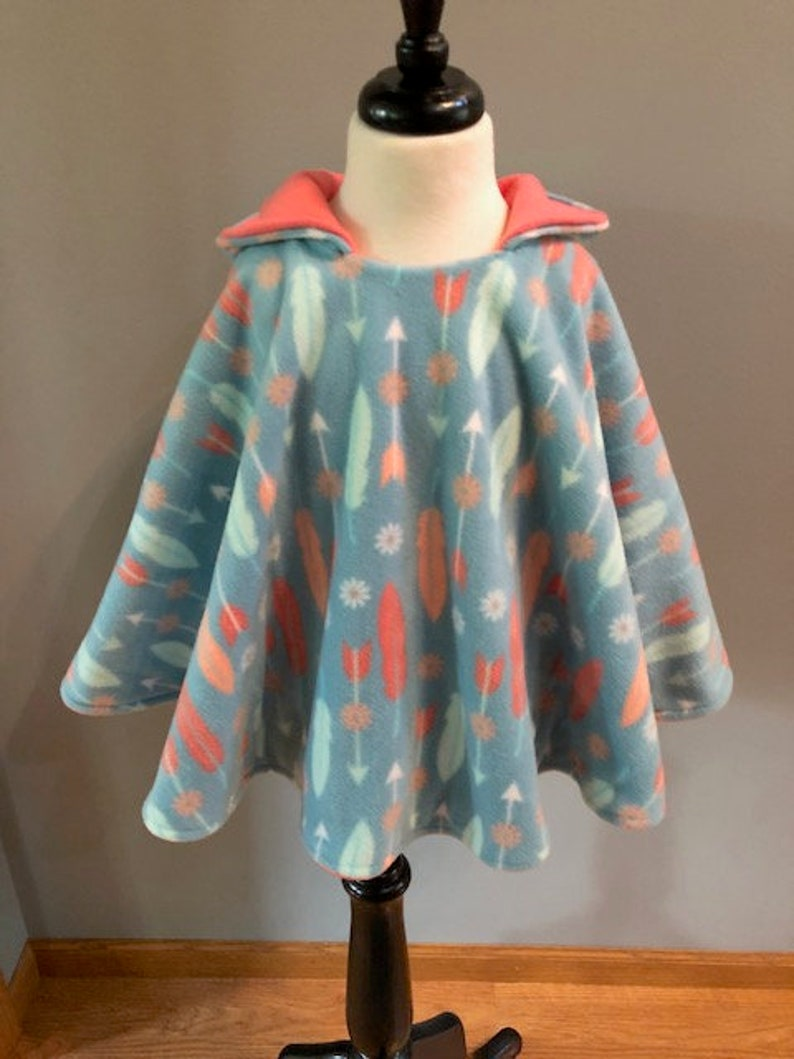 Car Seat Poncho-Hooded Poncho Toddler-Hooded Poncho Child-Reversible Hooded  Poncho-Hooded Poncho