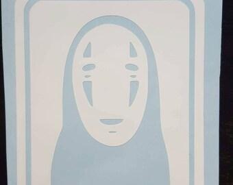 Spirited Away - No face decal