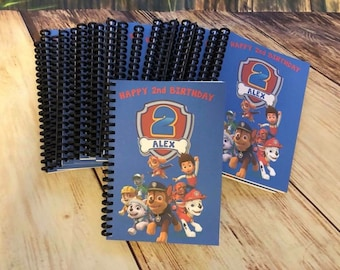Paw Patrol Birthday Party Supplies 5x7 Coloring Books Personalized Bday Favors Custom Crayons To Match Packages