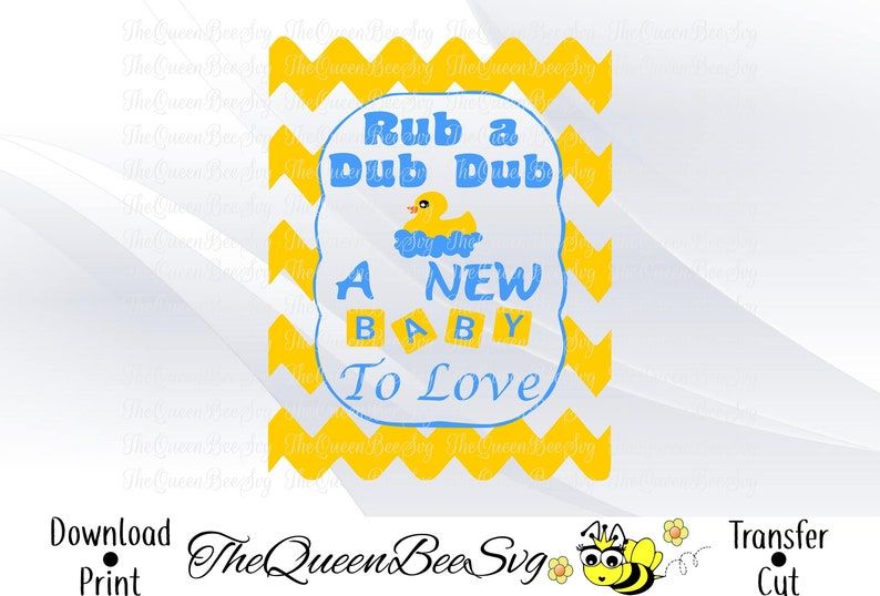 b6feb9f6f Rub a dub dub new baby pregnancy announce svg files for cricut | Etsy