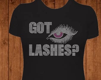 ndk1465 Fitted Next Level Ladies/' Triblend Long-Sleeve Scoop Got Lashes