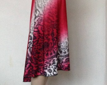 Argentine Tango skirt in small size