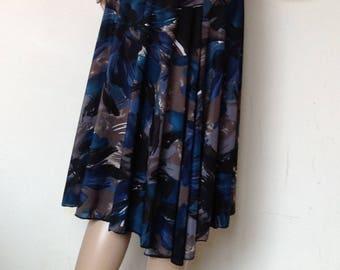 Argentine tango skirt in medium size
