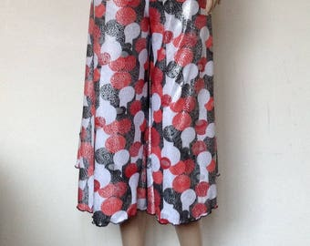 Argentine tango culottes in large size