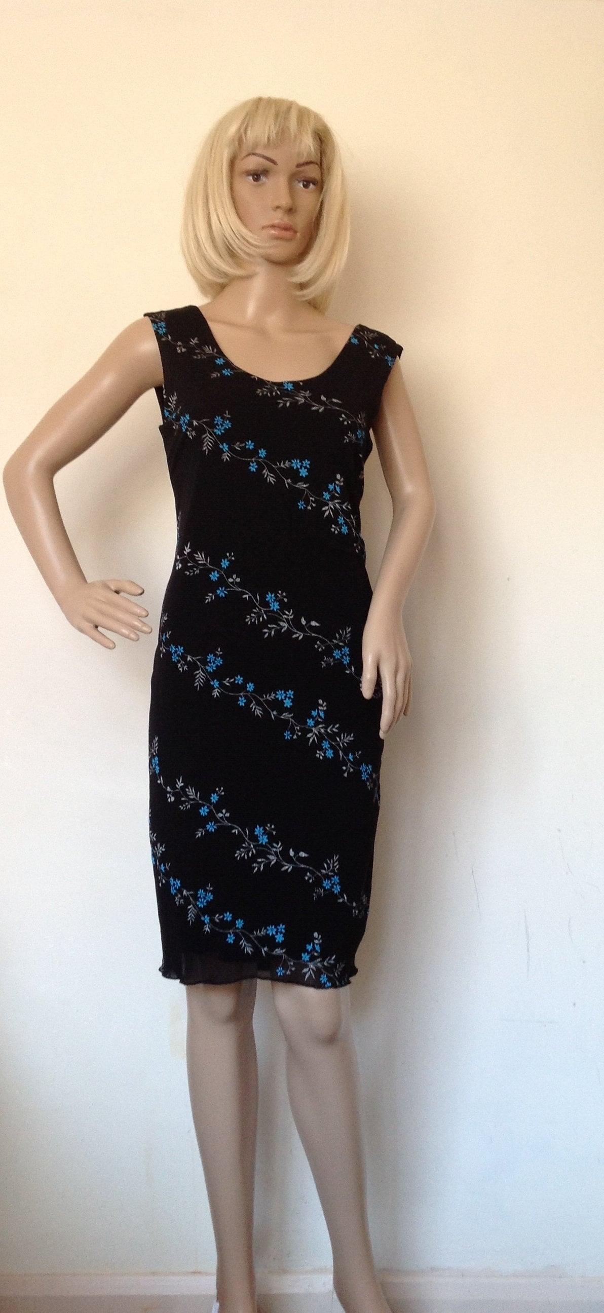 robe de tango argentin de taille moyenne etsy. Black Bedroom Furniture Sets. Home Design Ideas