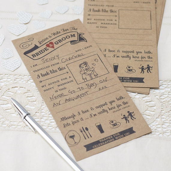 Hen Party Livre d/'or Wishes /& Conseils pour la mariée à être rose /& or rose