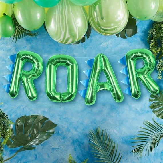 Dinosaur Green Balloons Party Roar BirthdayEtsy O80wkNnPX