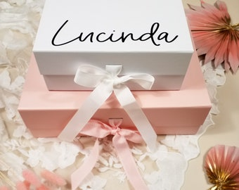 Personalised Gift Boxes, Wedding Gift Boxes, Custom Gift Boxes, Bridesmaid Gift Boxes, Wedding Gift Decorations