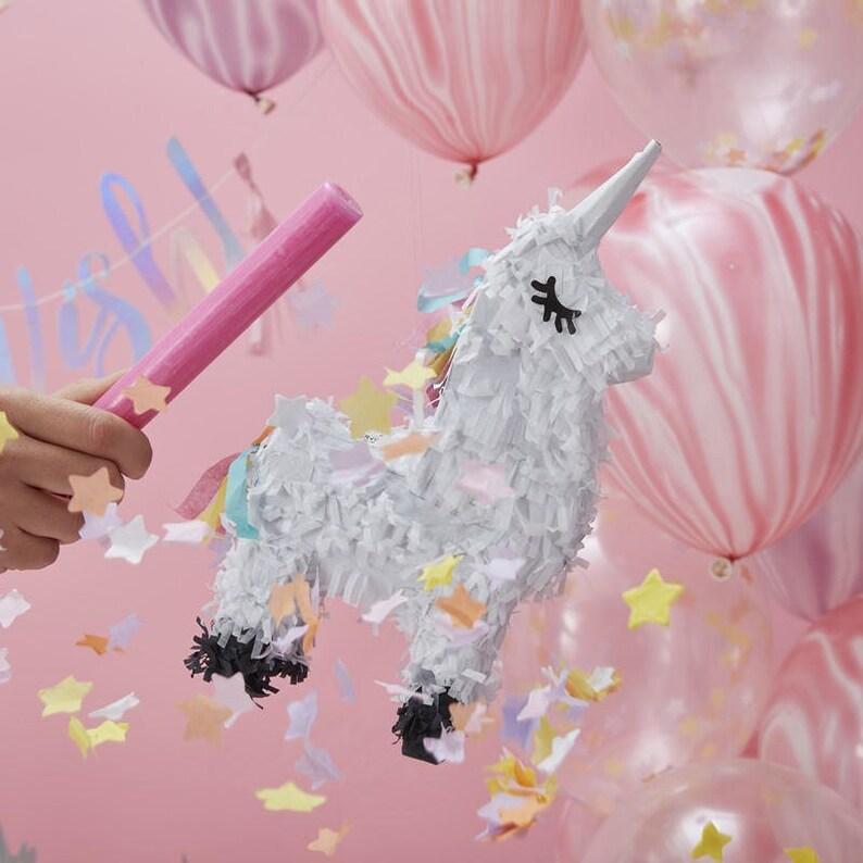 Unicorn Party Games Sweet Treats Mini Unicorn Pinata Favour Party Decorations Birthday Party