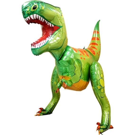 Globo De Dinosaurio 5ft T Rex Fiesta De Dinosaurios Globos Etsy Globos de gran calidad de 30cm de diámetro. globo de dinosaurio 5ft t rex fiesta de dinosaurios globos de fiesta de cumpleanos de ninos decoraciones de fiesta