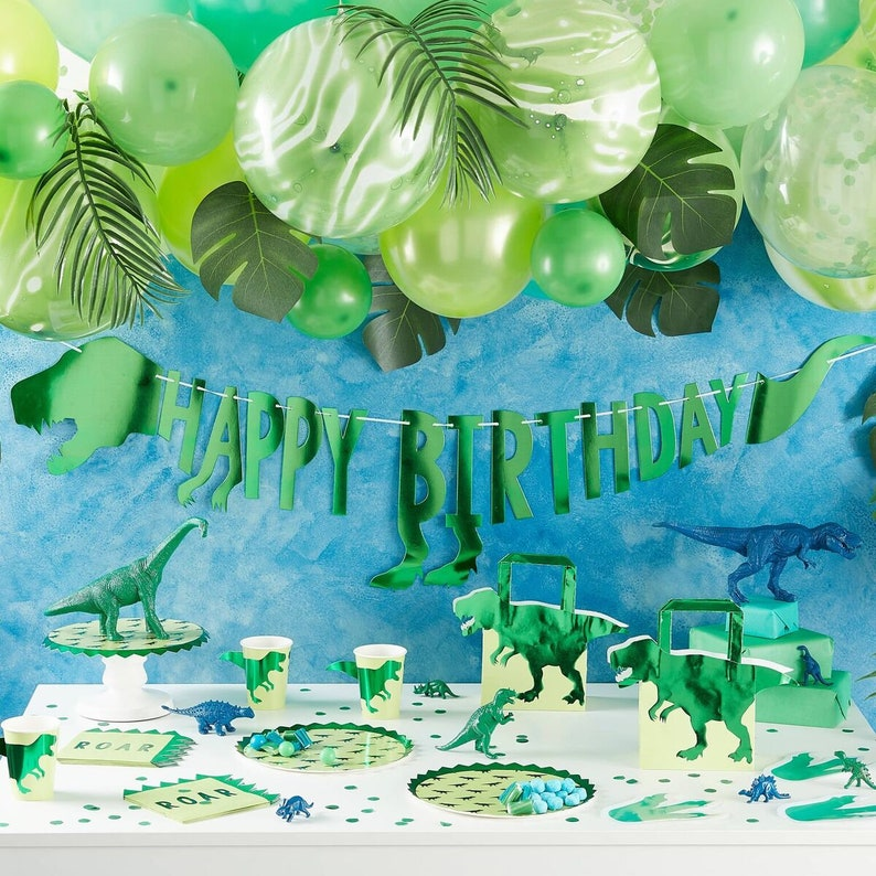 Birthday Party 5 Dinosaur Party Bags Kid/'s Party Children/'s Party 1st Birthday Party Dinosaur Birthday Party Decorations