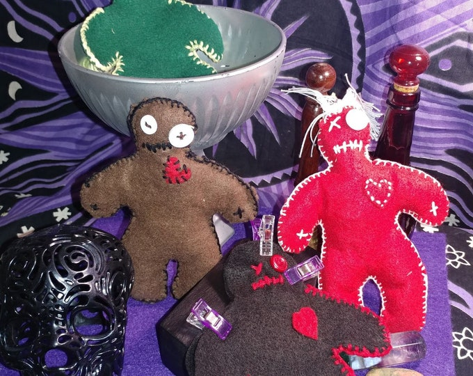 Featured listing image: Custom Poppet/Dollie/Voodoo Doll - Hoodoo, Witchcraft, Magic, Conjure, Spell