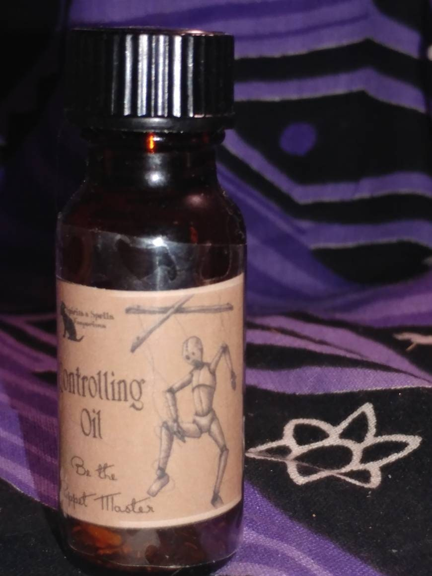 Controlling/Commanding Oil - Witchcraft, hoodoo, witchery