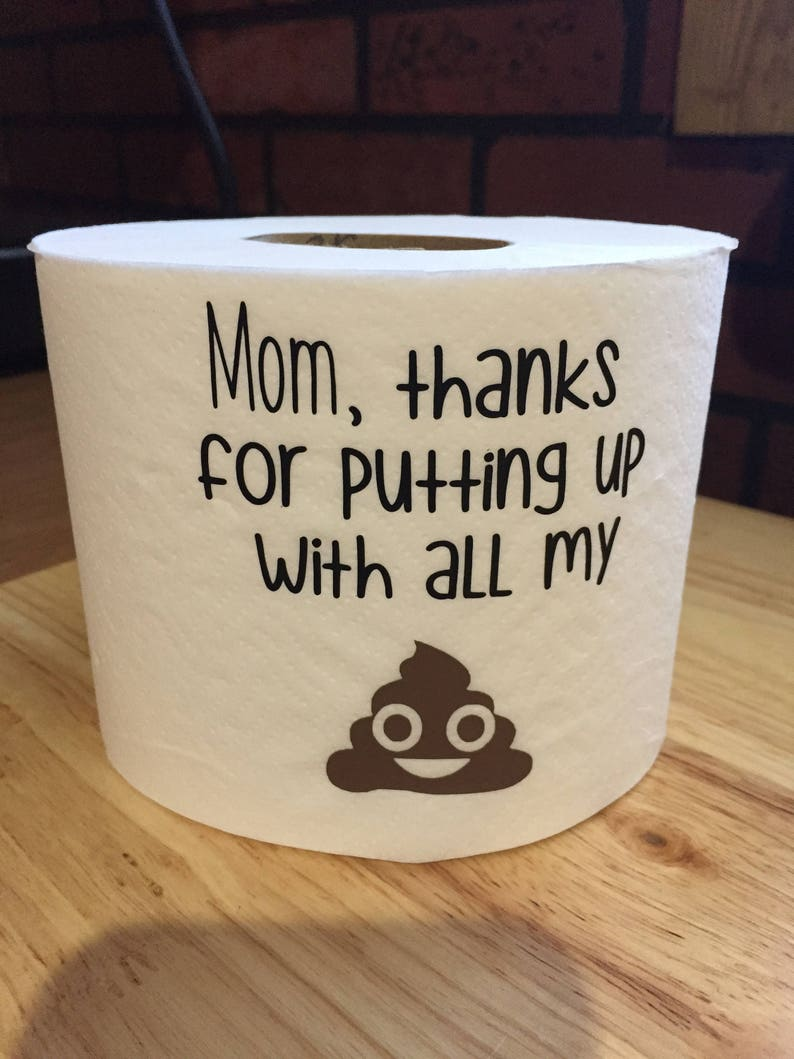 Mom Thank You Gag Gift Funny Ideas Birthday