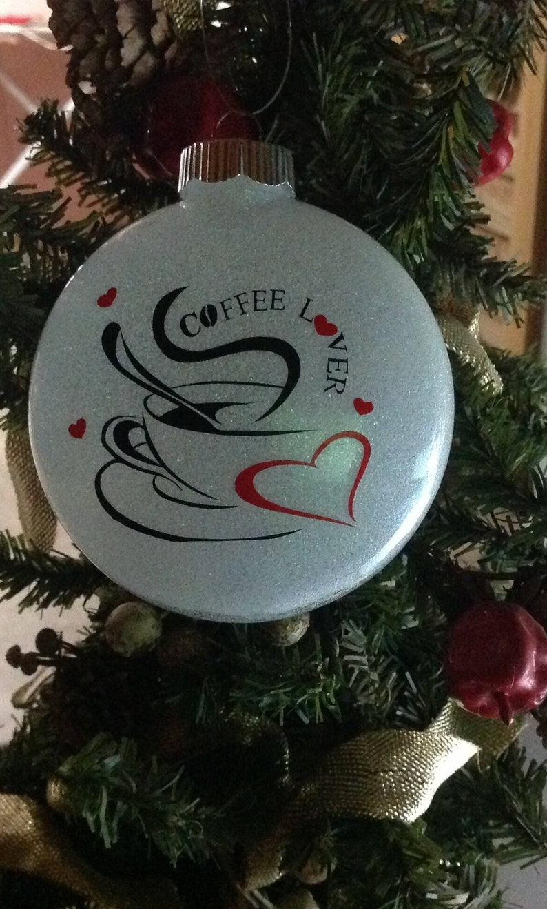 Coffee Lovers Christmas Ornament Love Gift