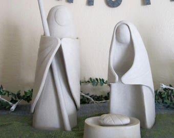 Ceramic Nativity / Creche