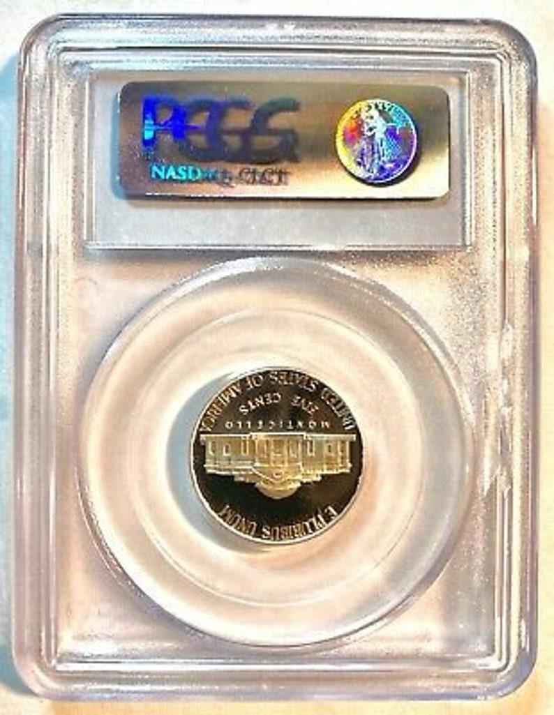 420 PCGS PR69 DCAM*** 2007-S Jefferson 5c Nickel