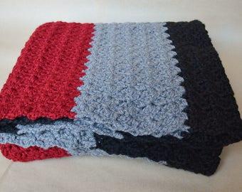 Oversized Throw Blanket - Stripes