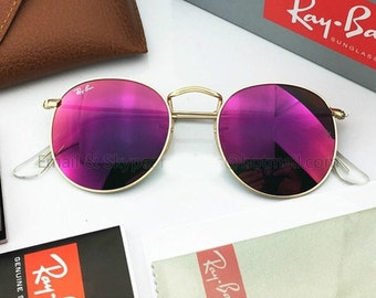 8c29cc1e1a56f0 New Authentic Ray-Ban Round Metal RB3447