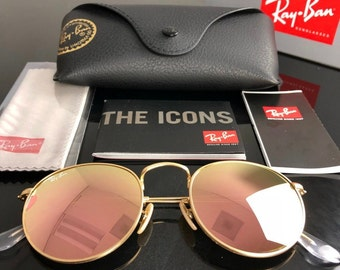 e1ca76d57b New Ray-Ban RB3447 Round Metal