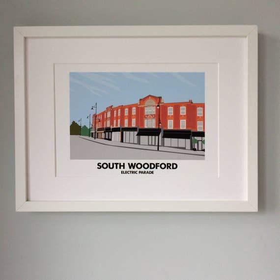 7e7361181e75 South Woodford Electric Parade A4 Print