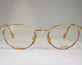 756f8d8b812f CERRUTI 1881 Model C1556 Women s Ladies  Refined Vintage Gold and Tortoise  Color Optical Eyeglass Frames Glasses Old Stock New Size Medium