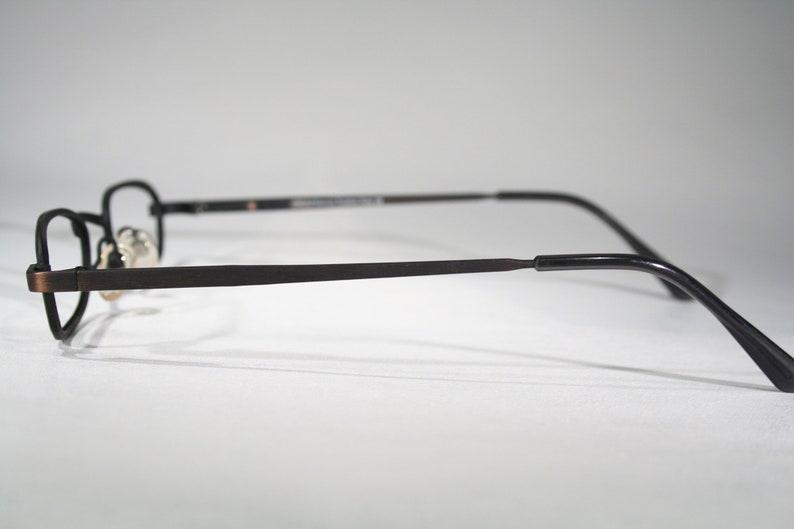 Unworn ORUM FIRENZE mod F106 Finnish Design Italy Made Late 90s Matte Distressed Copper Glasses Frames Mens Womens Unisex 45 20 130 Medium