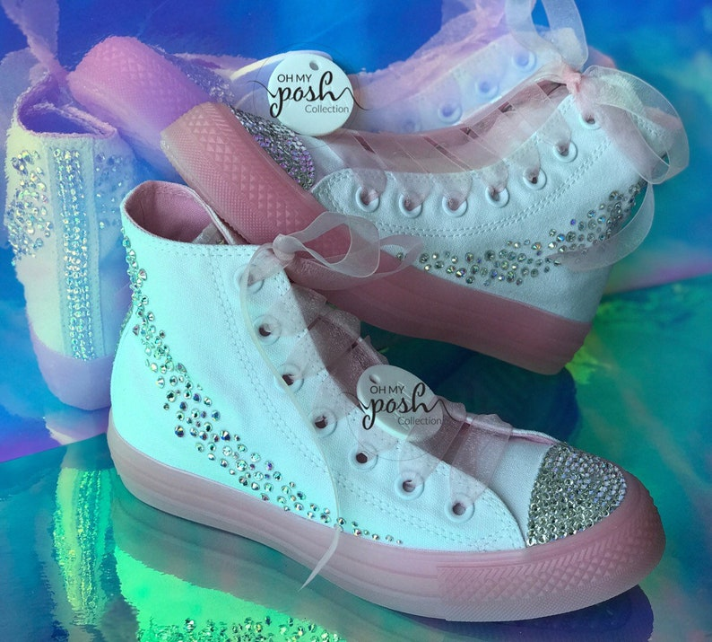 e47f20d5ec9 Jojo Siwa JoJo Siwa Birthday High Top Shoes Inspired Custom