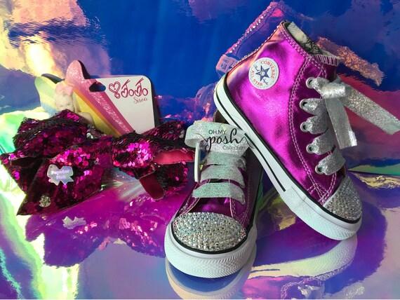 jojo siwa custom converse