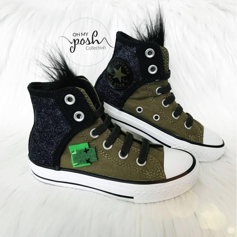 568fc05b9b54 Trolls Shoes Converse Grumpy Branch Birthday Custom Chuck